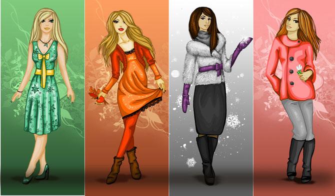 Цветовые типы в рисунках